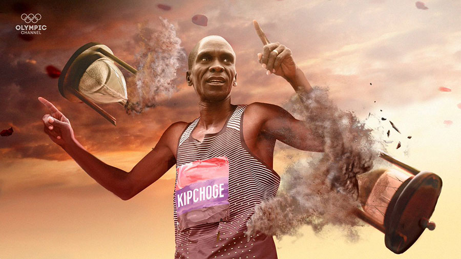 ELIUD KIPCHOGE RUNS FIRST EVER SUB-TWO HOUR MARATHON