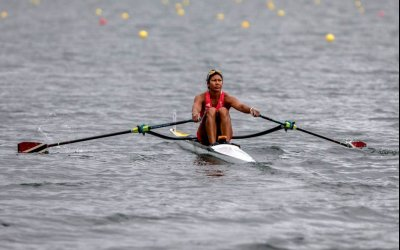 TT rower Chow books Olympic spot