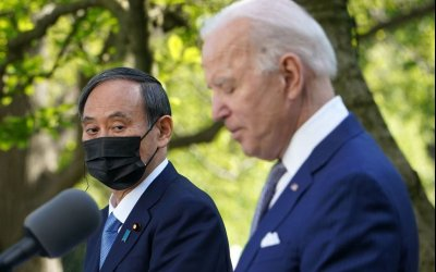 "Biden backs Japan's bid to hold ""safe and secure"" Games at Tokyo 2020"